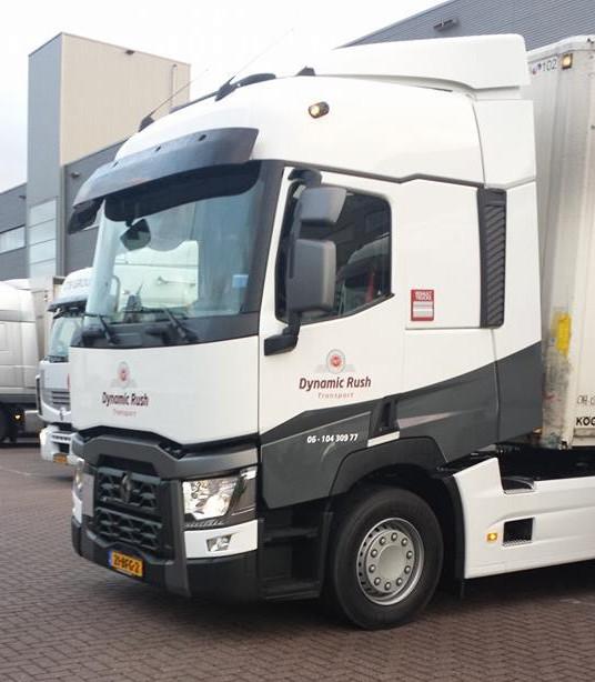 Dynamisch Rush Transport - Vrachtwagen