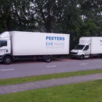 Dynamisch Rush Transport - Peeters vrachtwagen