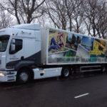 Dynamisch Rush Transport - Rien de Wolf vrachtwagen