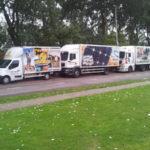 Dynamisch Rush Transport - Vrachtwagens