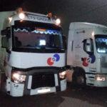 Dynamisch Rush Transport - CTS vrachtwagen